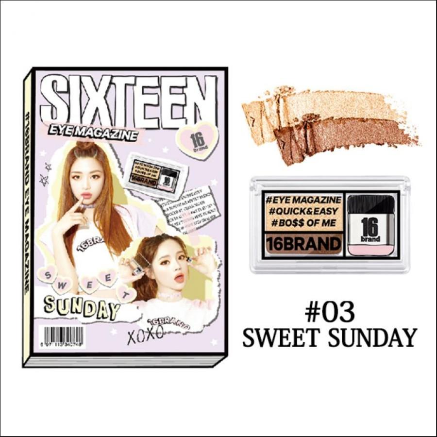 16brand アイマガジン(03 SWEET SUNDAY)