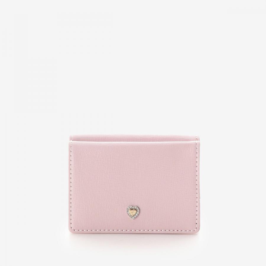 ハートブローチミニ財布