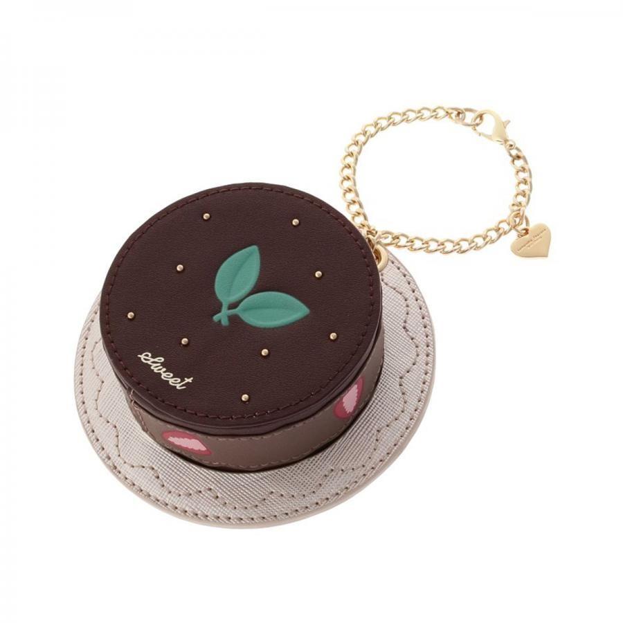 『ホームパーティコレクション』チョコレートケーキミラーバッグチャーム
