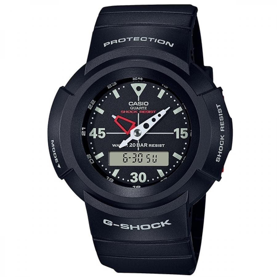 【G-SHOCK】 AW-500E-1EJF アナデジ復刻モデル