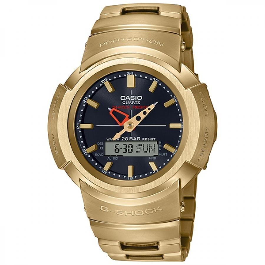 G-SHOCK ジーショック CASIO カシオ フルメタル AWM-500GD-9AJF アナデジ 電波ソーラー 腕時計 メンズ