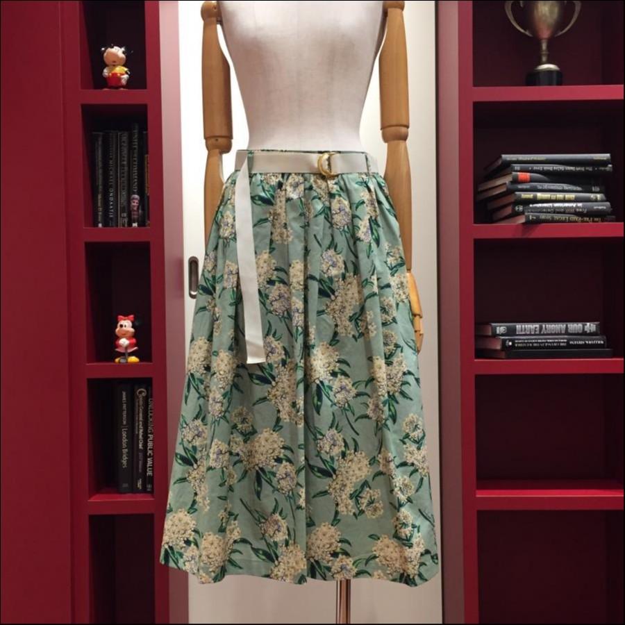 アリッサムプリントスカート