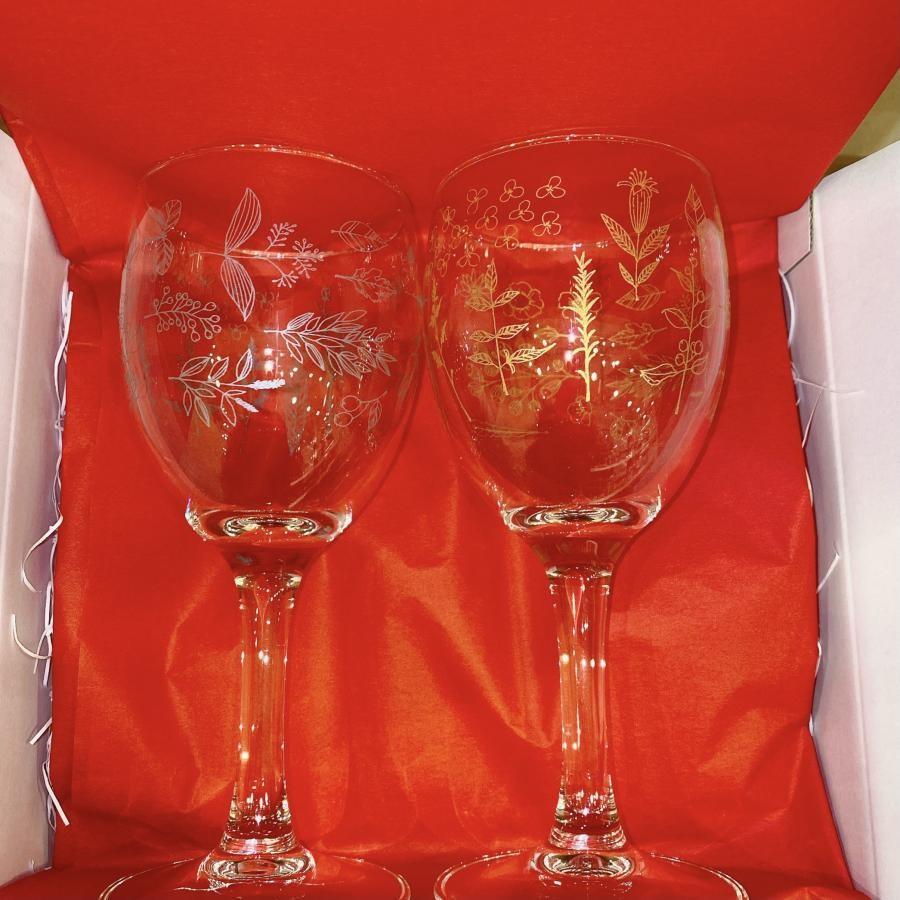 ヒル&フィールズ ワイングラスセット