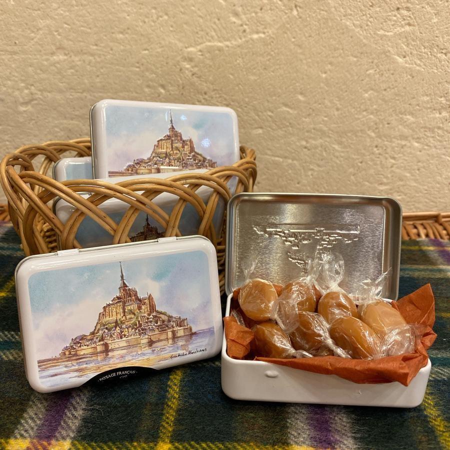 塩キャラメルキャンディー モンサンミッシェル
