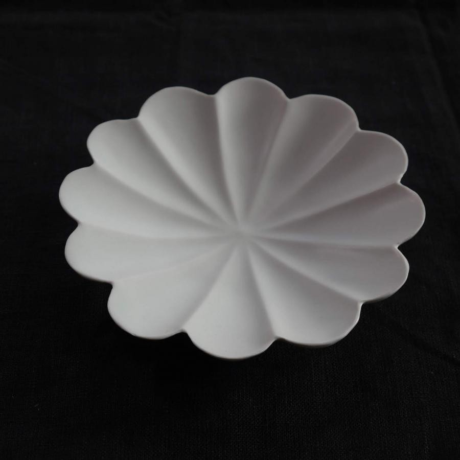 usukiyaki  輪花十二弁浅鉢
