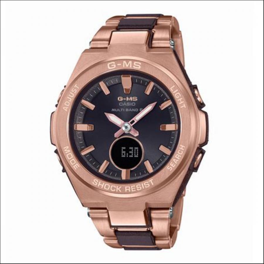 BABY-G ベイビージー G-MS ジーミズ 電波ソーラー 腕時計 MSG-W200CG-5AJF