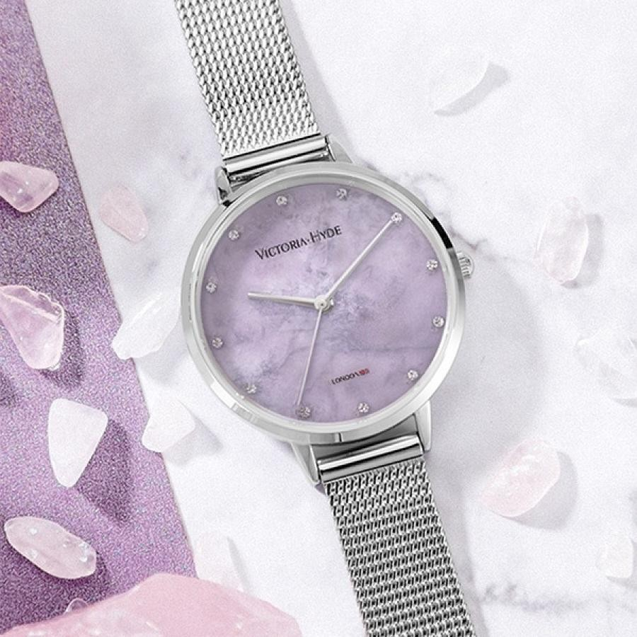 VICTORIA HYDE LONDON ヴィクトリアハイドロンドン 腕時計 レディス クリスタル
