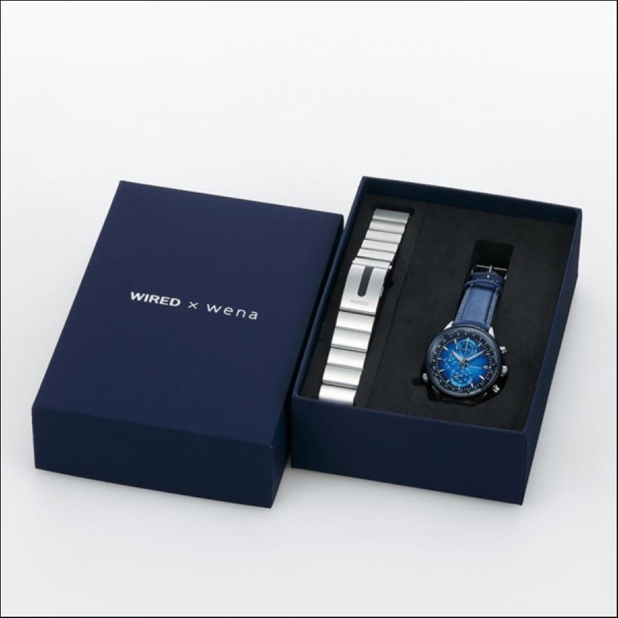 WIRED ワイアード SEIKO セイコー wena コラボモデル 700本限定 腕時計 AGAW713