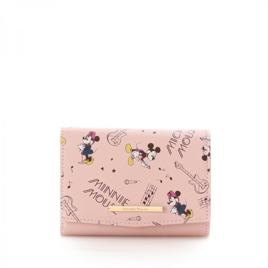 ミッキー&ミニーコラボ折財布