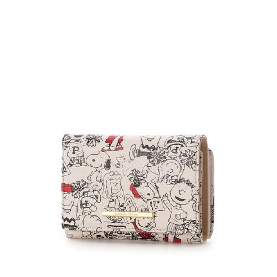 スヌーピー三つ折財布
