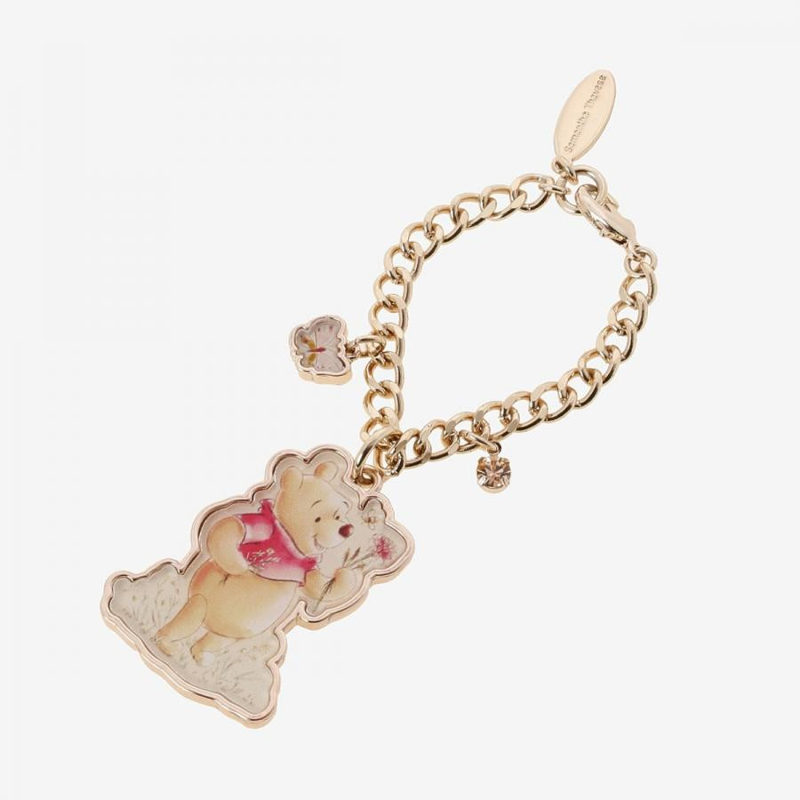 【Winnie The Pooh】バッグチャーム(お花摘み)