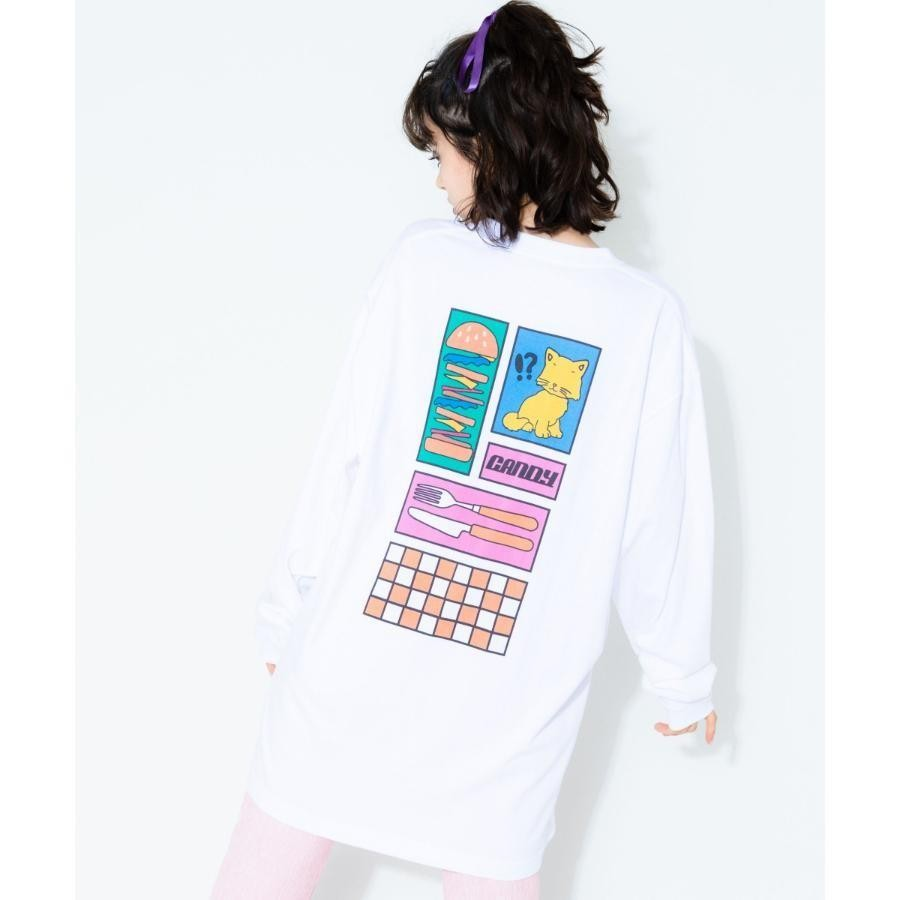 LUNCH TIME L/S TEE