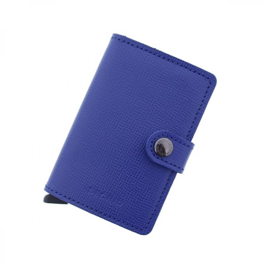 SECRID シークリッド セクリッド CRISPLE Miniwallet ミニウォレット MC-BlueBlack
