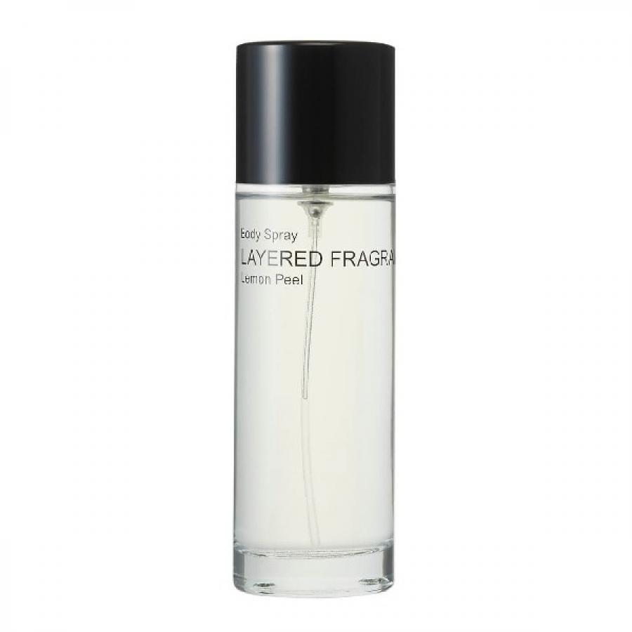LAYERED FRAGRANCE レイヤードフレグランス Body Spray ボディスプレー 香水 100ml Lemon Peel レモンピール BS-LPnn