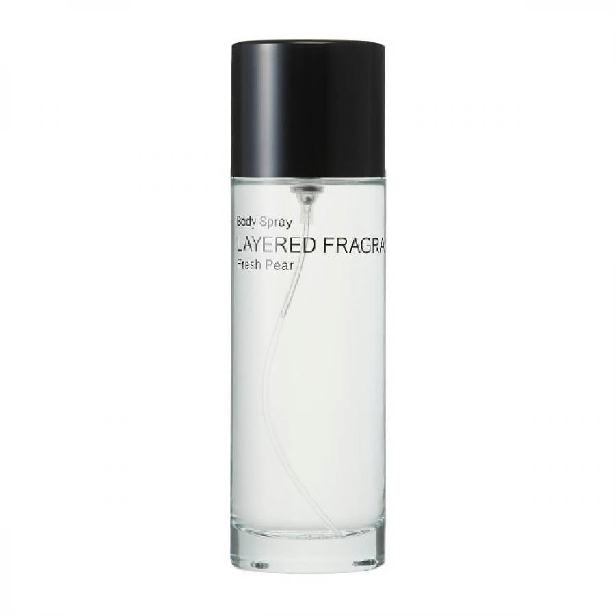 LAYERED FRAGRANCE レイヤードフレグランス ボディスプレー 香水 100ml Fresh Pear フレッシュペア BS100ml-FP