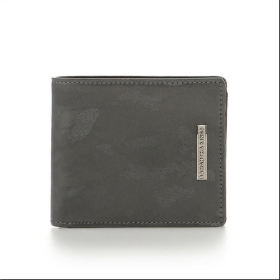 カモフラレザー折り財布