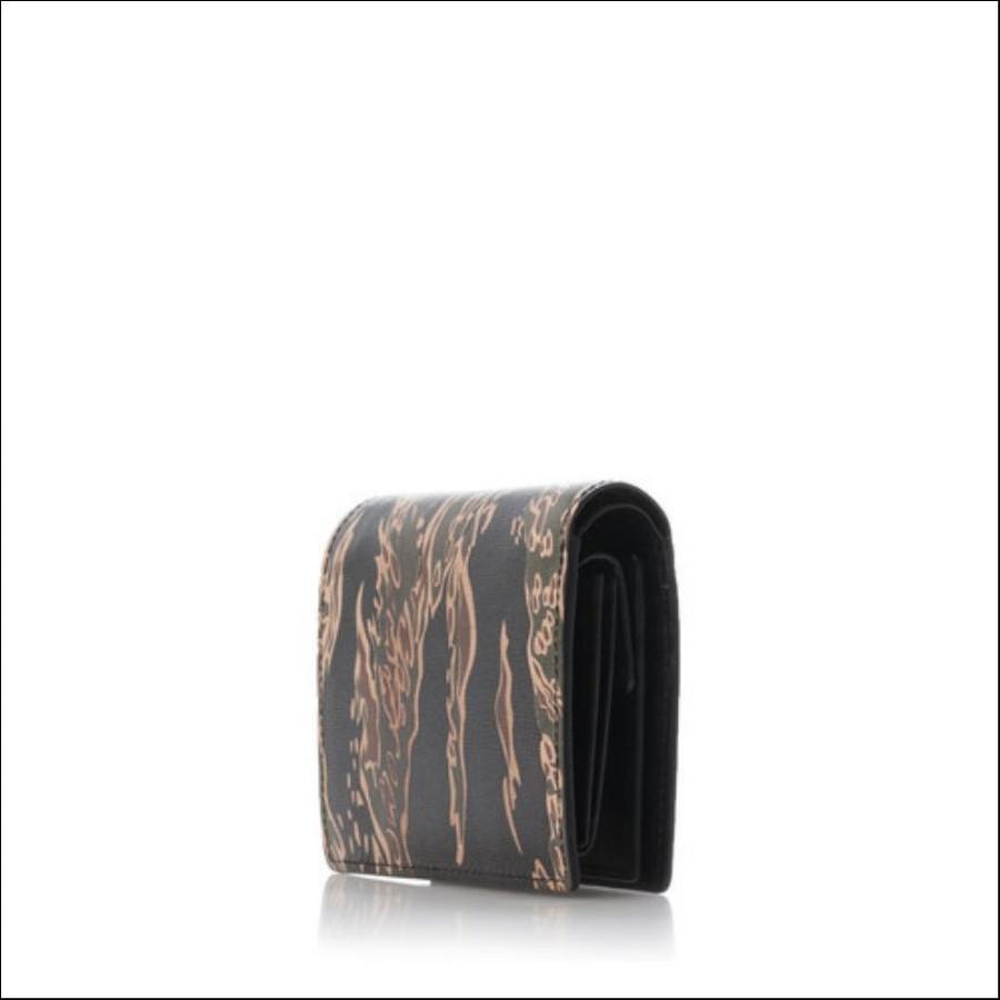 タイガーカモフラ柄 折財布