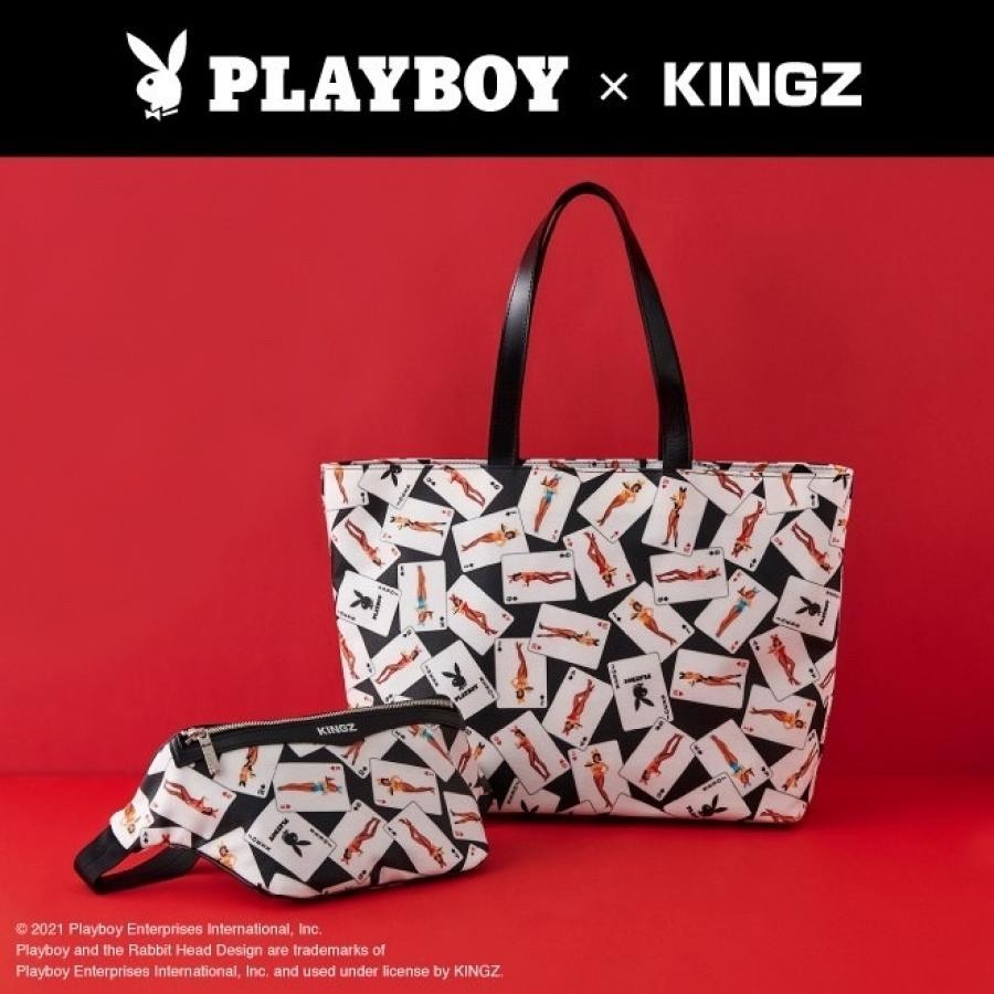 PLAY BOY×KINGZ コラボトートバッグ