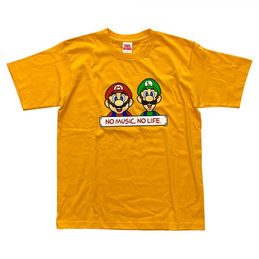 スーパーマリオ Tシャツ イエロー
