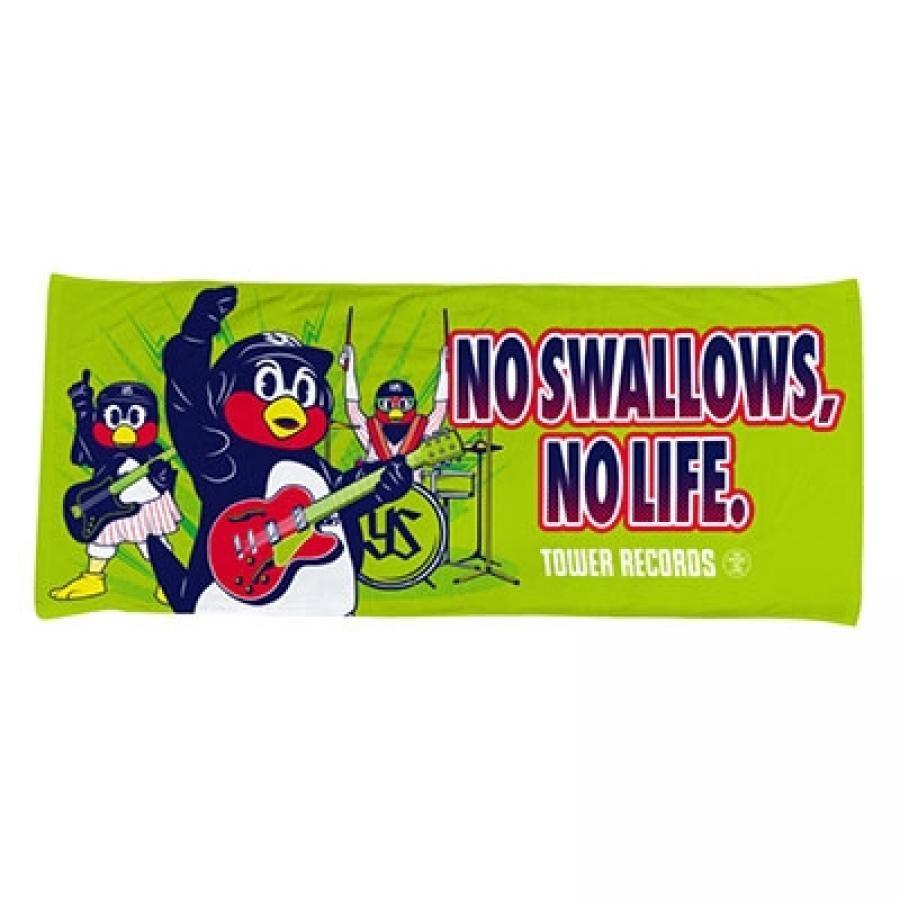 NO SWALLOWS, NO LIFE. 2020 ハイブリッドフェイスタオル(バンド)