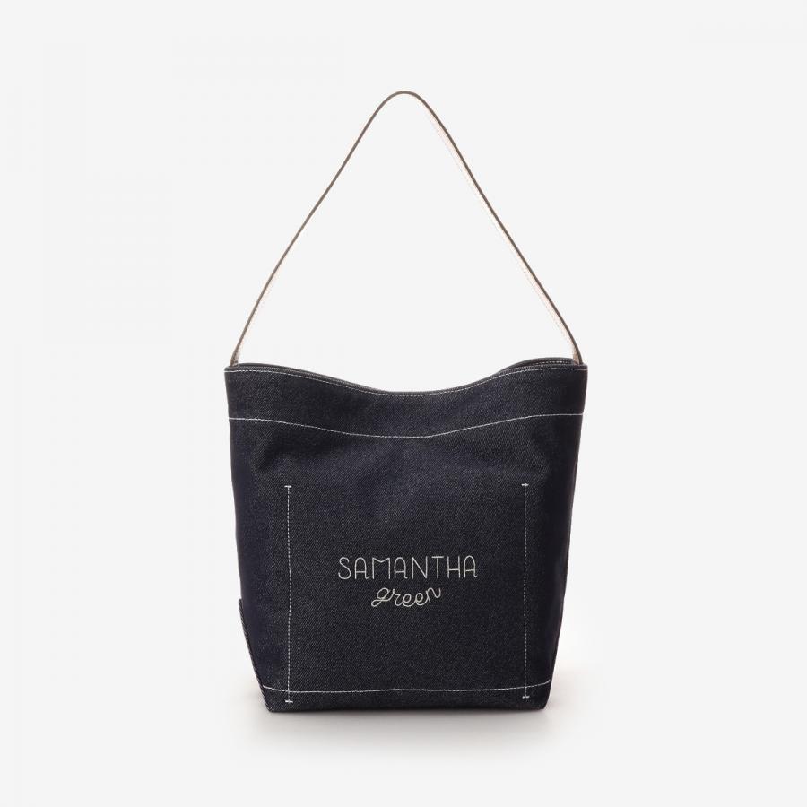 【Samantha Green】和紙バケットバッグ 大サイズ