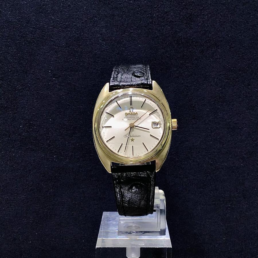 アンティーク 中古 OMEGA オメガ Constellation Chronometer コンステレーション クロノメーター 168017 Cライン