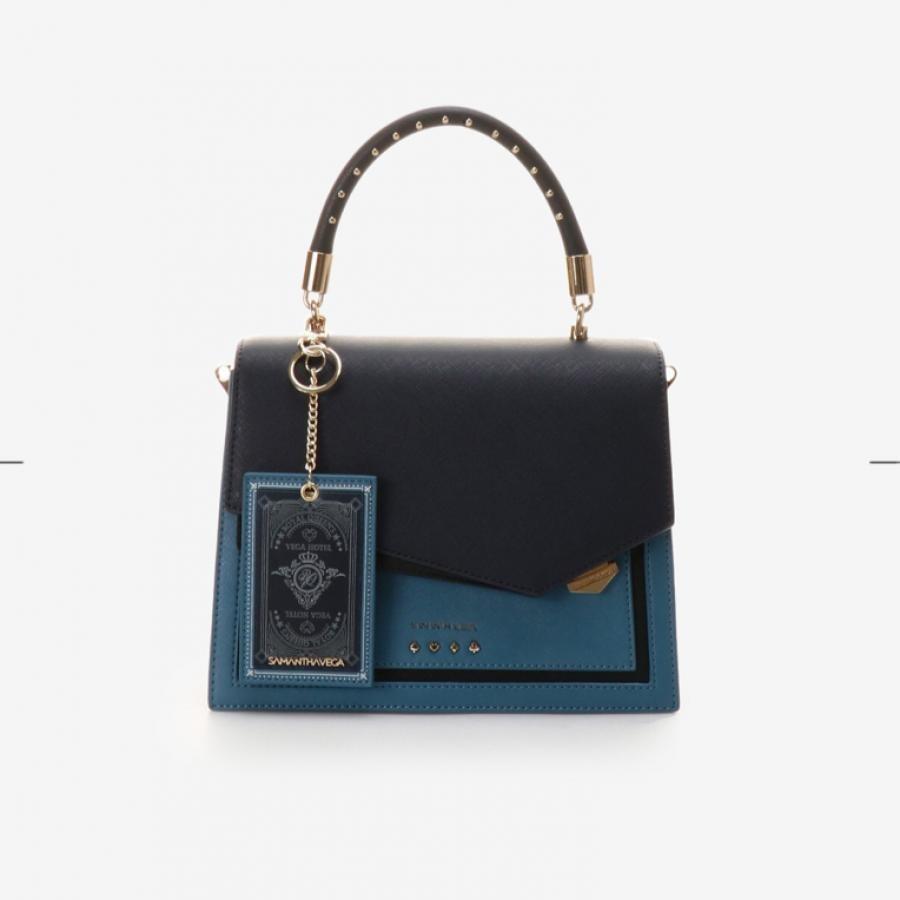 スートモチーフハンドバッグ