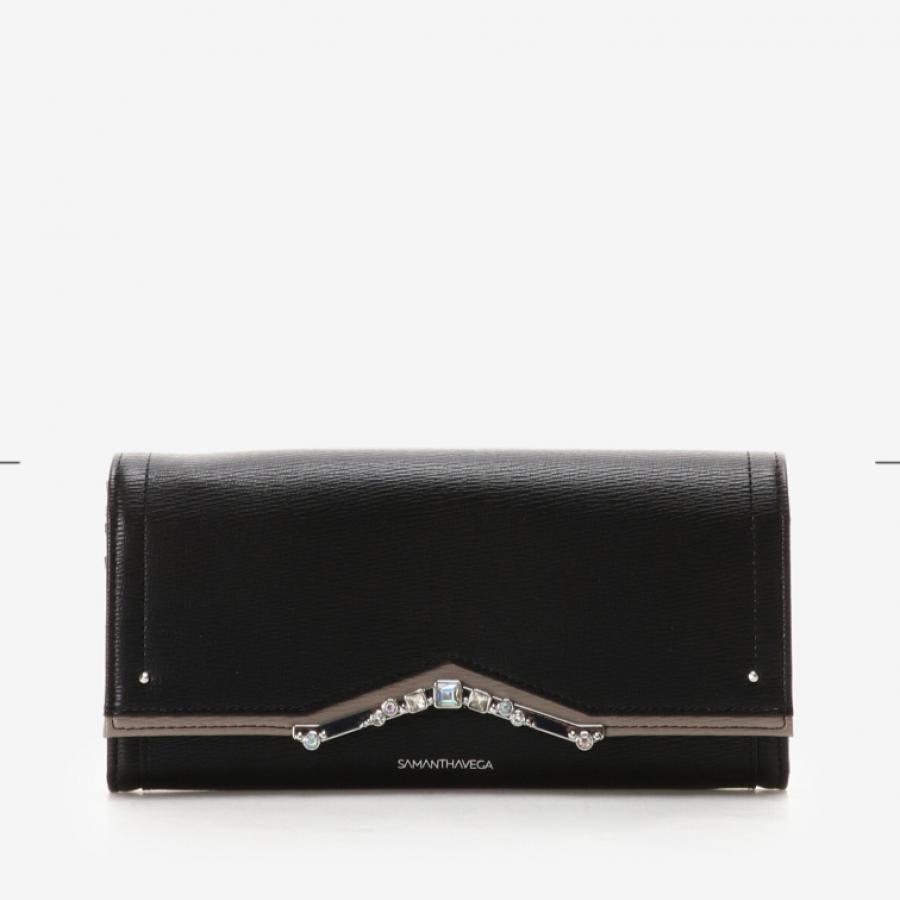 ストーンモチーフ長財布