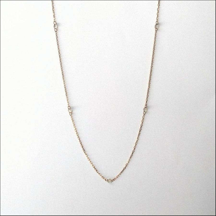【ヌーディダイヤモンド・クリア】ネックレス
