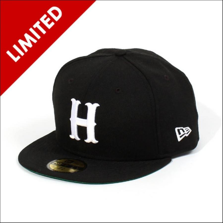 NEW ERA(ニューエラ)ベースボールキャップ 広島CARP(カープ) SHAPPO(シャッポ) 別注カラー ロゴH ブラック 5950h