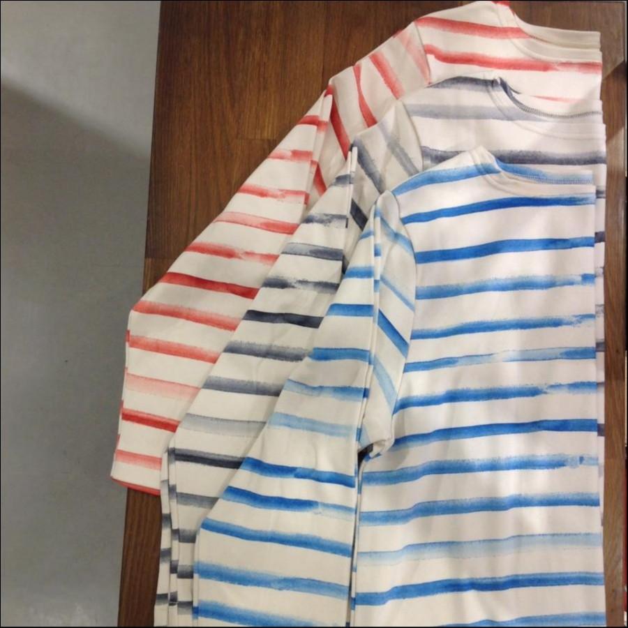 ハンドボーダーロングTシャツ【ポータークラシック】