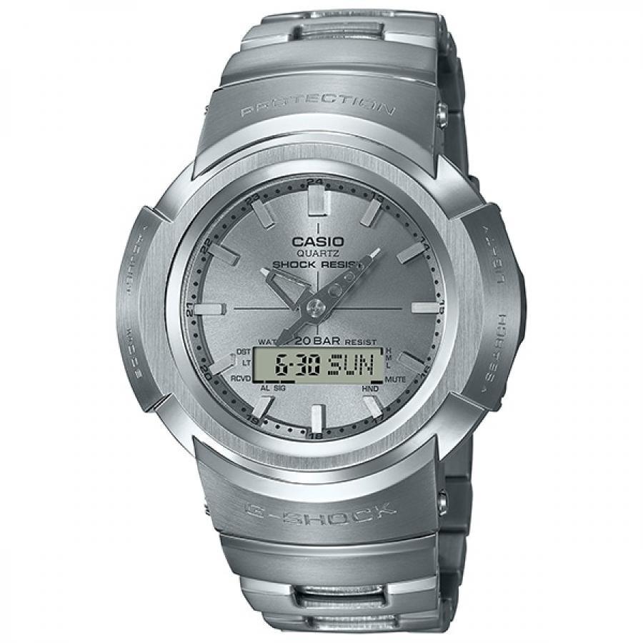 G-SHOCK ジーショック CASIO カシオ フルメタル AWM-500D-1A8JF アナデジ 電波ソーラー 腕時計 メンズ
