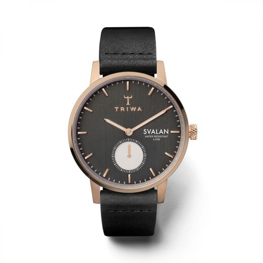 TRIWA トリワ SVALAN スヴァラン NOIR BLACK CLASSIC SUPER SLIM  腕時計 SVST101-SS010114