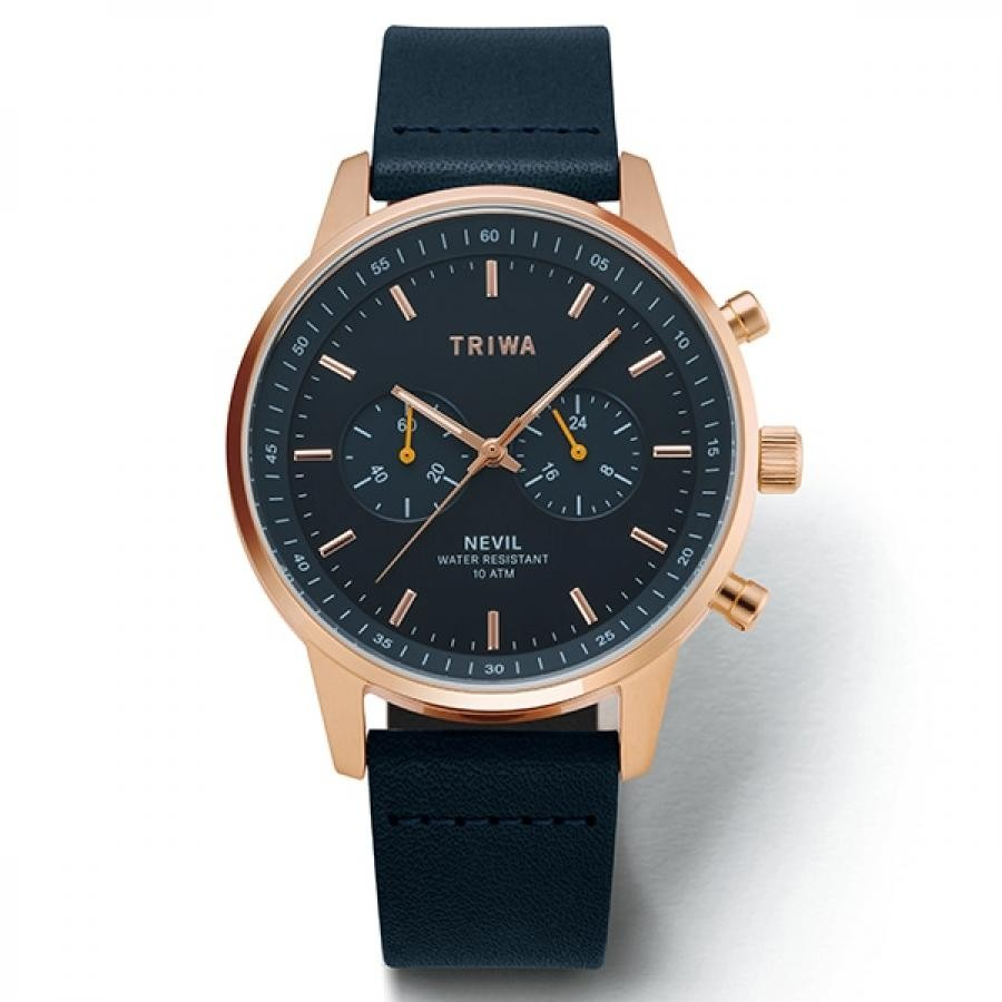 TRIWA トリワ 腕時計 メンズ NEVIL ネヴィル JAPAN LIMITED  TiCTAC限定  NEST126-CL110714P