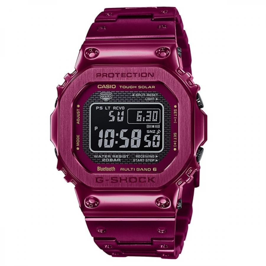 【G-SHOCK】フルメタル GMW-B5000RD-4JF 電波ソーラー