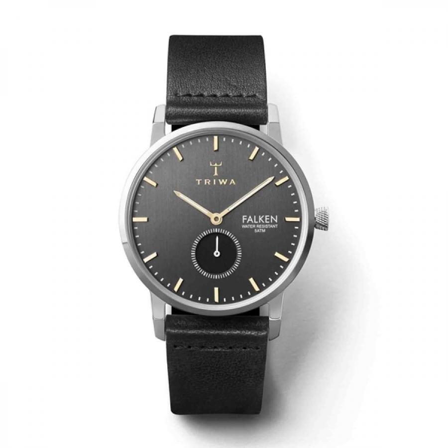TRIWA トリワ SMOKY FALKEN スモーキー ファルケン BLACK CLASSIC  腕時計 FAST119-CL010112