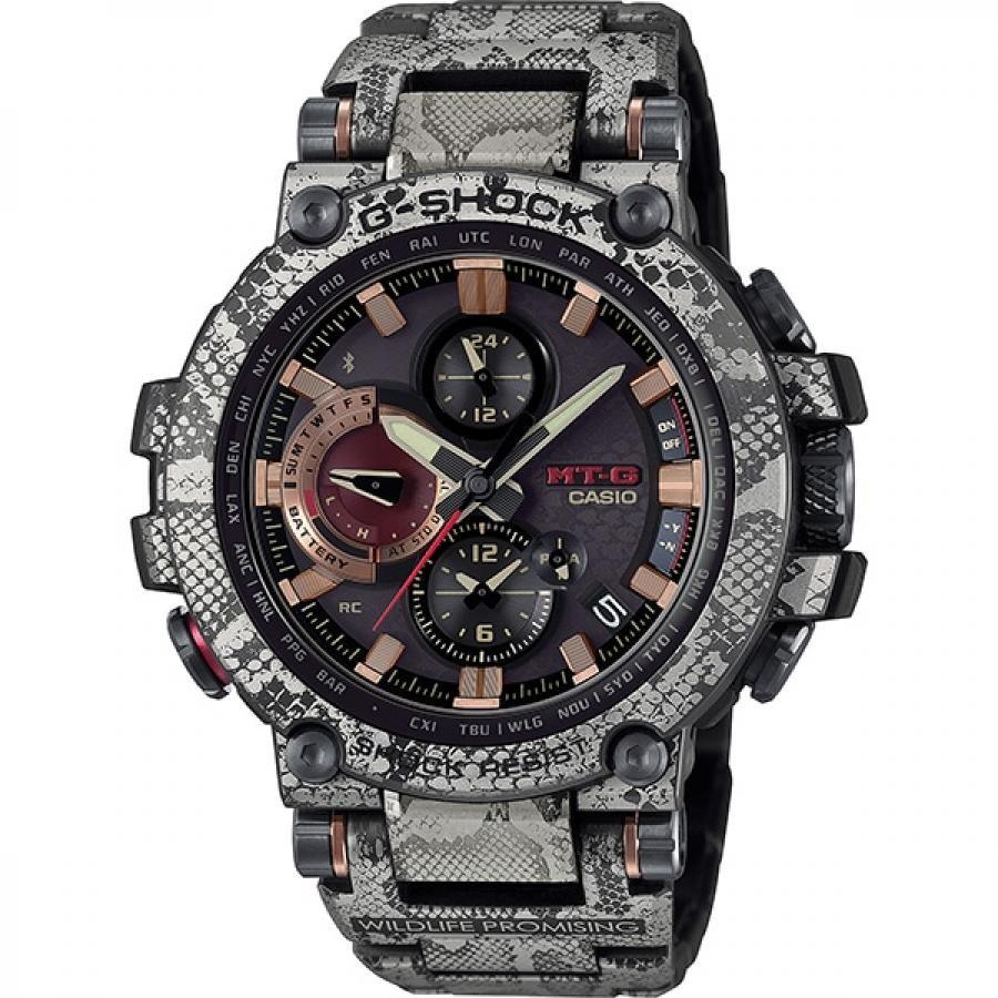 G-SHOCK ジーショック CASIO カシオ MTG-B1000WLP-1AJR MT-G Bluetooth搭載 電波ソーラー WILD LIFE PROMISSING 腕時計 メンズ