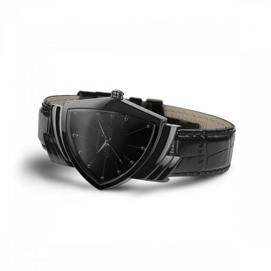 HAMILTON ハミルトン VENTURA QUARTZ ベンチュラ クォーツ フルブラック  腕時計 メンズ H24401731