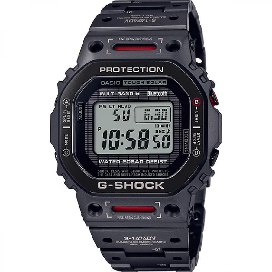 【G-SHOCK】フルメタル GMW-B5000TVA-1JR バーチャルアーマー 電波ソーラー