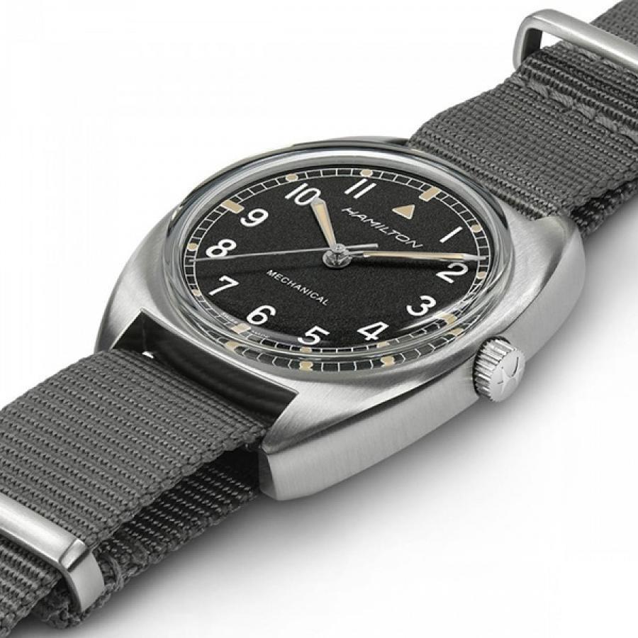 HAMILTON ハミルトン Khaki カーキ アビエーション PILOT PIONEER MECHANICAL メカニカル 手巻 腕時計 メンズ H76419931