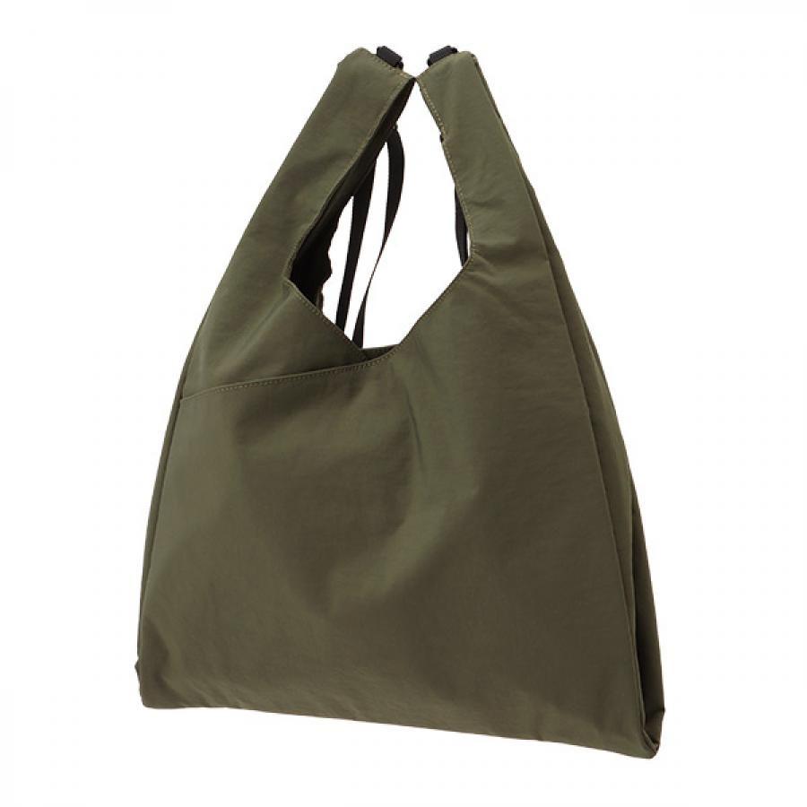 【SLOW】 Span nylon 2way grocery shopper L 2WAYグローサリーショッパー カーキ 456S18J