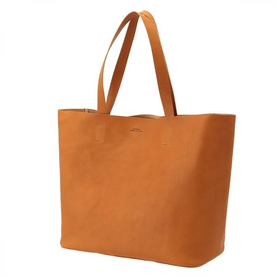【SLOW】 コレクターズ別注 bono tote bag M トートバッグM キャメル 300S134J