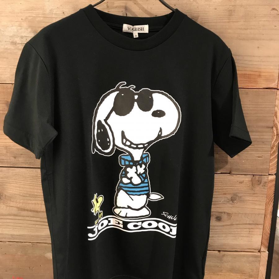 スヌーピーJOE COOLプリントTシャツ