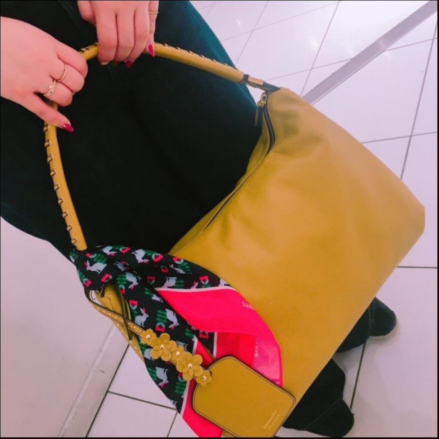 かがり一本手バッグ