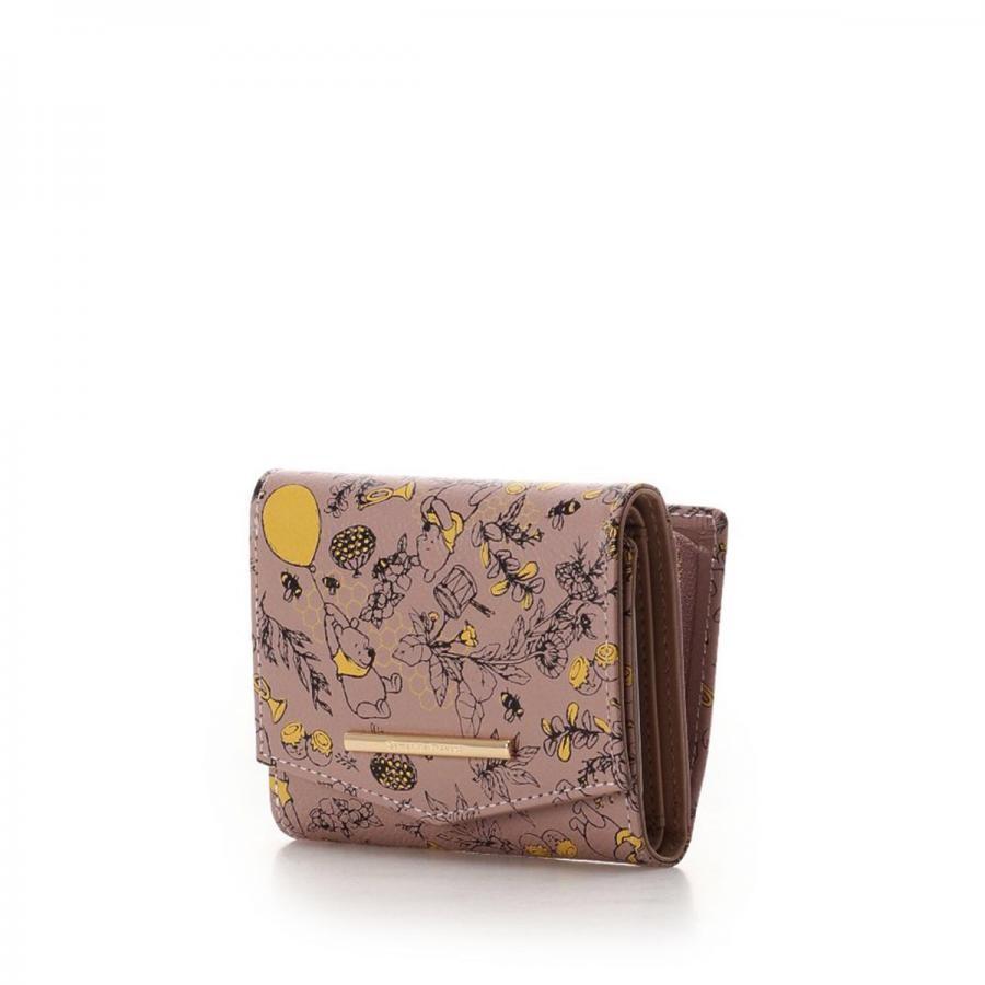 くまのプーさんコレクション 三つ折り財布【3年保証対象品】
