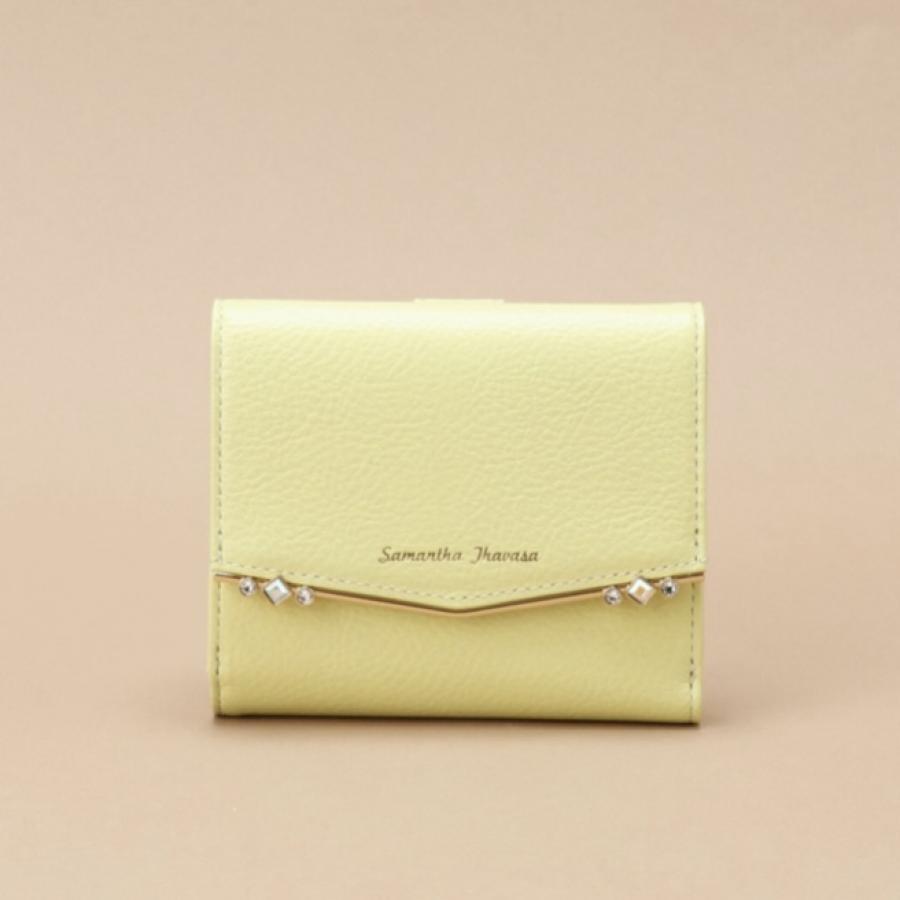 【新色】ストーンバー 二つ折り財布
