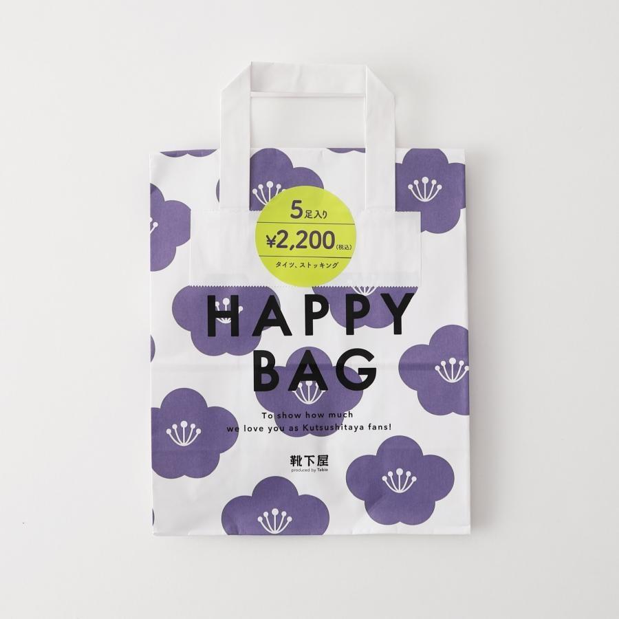 2020 HAPPY BAG タイツ・ストッキング5点