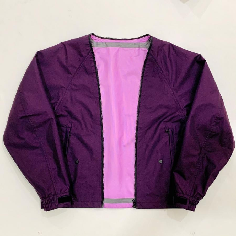 【meanswhile】3 LAYER DETACHABLE ANORAK OP  /PURPLE