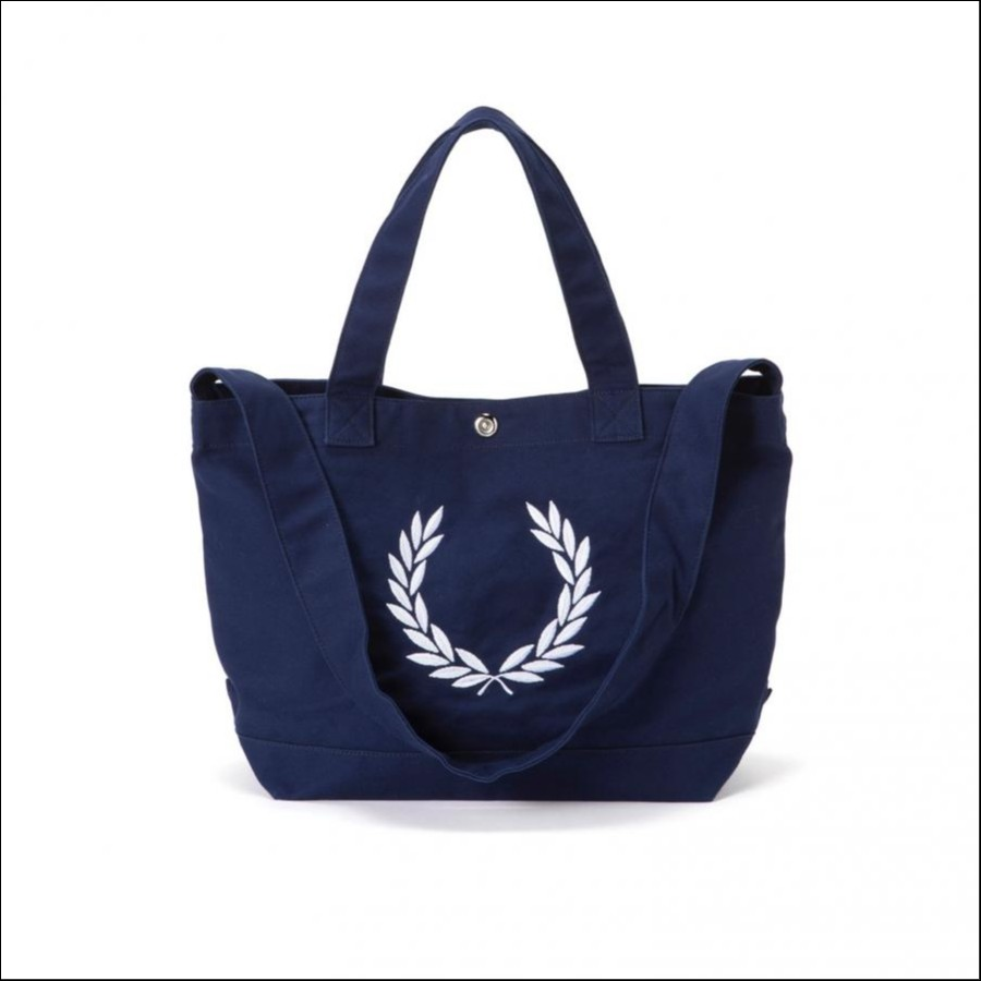 LAUREL WREATH CANVAS TOTE BAG