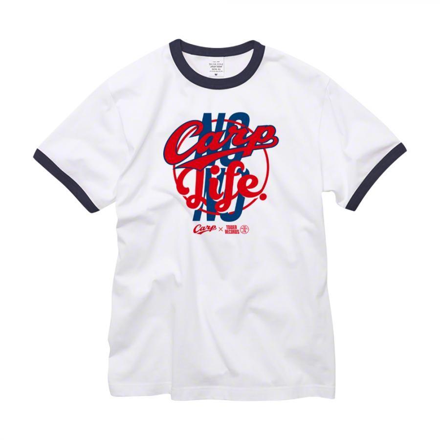 NO CARP, NO LIFE. 2019 Ringer T-shirts  (ネイビー)